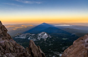 Mt Lassen - Lassen Volcanic National Park by Matt Chesebrough
