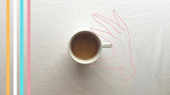 vegan coconut latte