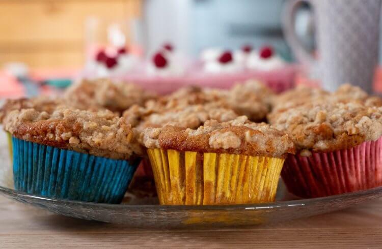 teff flour muffin