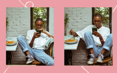 The Connection Between Mindless Scrolling on Our Phones and Emotional Eating