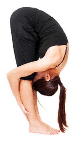 forward fold winter yoga routine